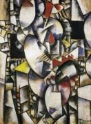 Обнаженная модель (Naked model in the worksh), 1912-1913 - Леже, Фернан