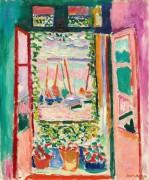 Открытое окно, Коллиур - Матисс, Анри