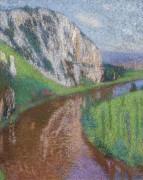 Реки Лот, и скалы Санкт-Сек-Лапопи - Мартен, Анри Жан Гийом