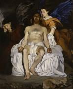 Мертвый Христос с ангелами - Мане, Эдуард