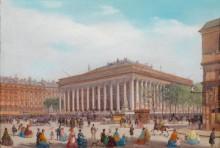 Биржевая площадь в Париже - Боссоли, Карло