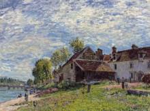 Пейзаж в Сен-Мамесе - Сислей, Альфред