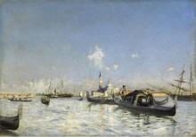 Остров Сан-Джорджо в Венеции, 1872 - Больдини, Джованни
