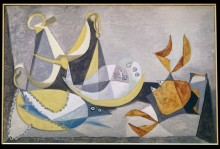 Натюрморт с камбалой - Пикассо, Пабло