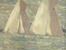 Регата в Каусе, 1898 - Эллё, Поль-Сезар