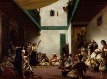 Еврейская свадьба в Марокко - Делакруа, Эжен