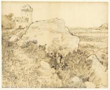 Холмы с руинами Монмажура, 1888 - Гог, Винсент ван