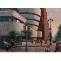 Вид на музей Гуггенхайма - Сарноф, Артур