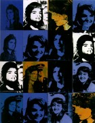 16 Джеки (16 Jackies), 1964 - Уорхол, Энди