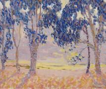Оранжевое и голубое (Orange and Blue) - Клапп, Уильям Генри