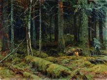 Темный лес, 1890 - Шишкин, Иван Иванович