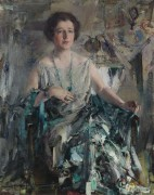 Портрет Дуэйн, 1926 - Фешин, Николай Иванович