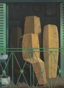 Перспектива II, Балкон Мане - Магритт, Рене