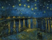 Звездная ночь над Роной - Гог, Винсент ван