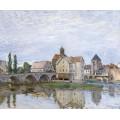 Море-сюр-Луан, пасмурная погода, 1892 - Сислей, Альфред