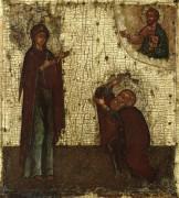 Явление Богородицы св.Сергию Радонежскому (ок.1600)