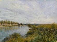 Вид на Сен-Мамес - Сислей, Альфред