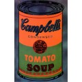 Разноцветная банка супа Кэмпбелл (Boîte de soupe Campbell's multicolore), 1965 - Уорхол, Энди