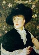 Портрет жены художника -  Крейн, Уолтер