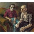 Портрет родителей художника - Дикс, Отто