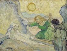 Воскрешение Лазаря (Raising of Lazarus), 1889 - Гог, Винсент ван