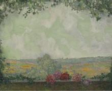 Вид с террассы, 1925 - Сиданэ, Анри Эжен Огюстен Ле