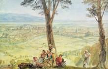 Вид на Рим из Монте-Марио - Тернер, Джозеф Мэллорд Уильям