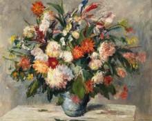 Большой цветочный натюрморт - Шайнхаммер, Отто
