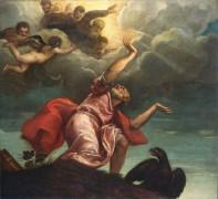 Иоанн Евангелист на острове Патмос - Тициан Вечеллио