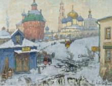 Вид на Троице-Сергиеву лавру - Горбатов, Константин
