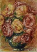 Ваза с розами - Ренуар, Пьер Огюст