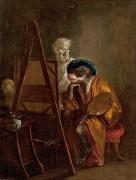 Обезьяна-художник - Ватто, Жан Антуан