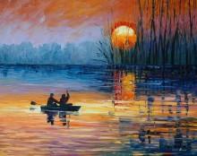 Ночная рыбалка - Афремов, Леонид (20 век)