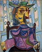 Дора Маар в кресле - Пикассо, Пабло
