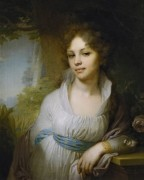Портрет Марии Ивановны Лопухиной, 1797 -  Боровиковский, Владимир Лукич