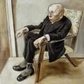 Портрет писателя Макса Херрманна-Нейссе - Грос, Георг