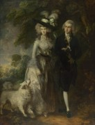 Мистер и миссис Уильям Халлетт (Утренняя прогулка) - Гейнсборо, Томас