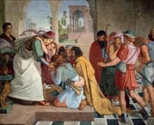 Иосиф откровенничает с братьями - Корнелиус, Петер фон