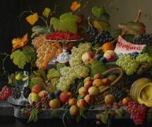 Натюрморт с фруктами и ягодами - Розен, Северин