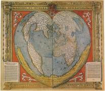 Карта Северного полюса
