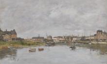 Порт Трувиля, 1880 - Буден, Эжен