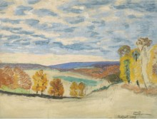 Пейзаж в Крозан, 1893 - Гийомен, Арманд