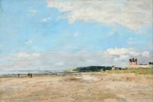 Пляж в Бенервиле, отлив - Буден, Эжен