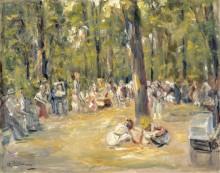 Сценка в парке - Либерман, Макс