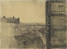 Вид из комнаты на улице Лепик (View from the Apartment in the Rue Lepic), 1887 - Гог, Винсент ван