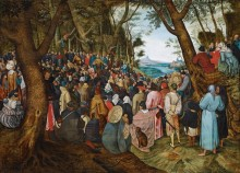 Проповедь Иоанна Крестителя - Брейгель, Питер (Младший)