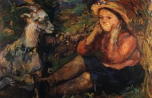 Пан Trudl с козой - Кокошка, Оскар