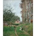 Пасмурный день,  1899 - Писсарро, Камиль