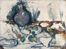 Натюрморт с кувшином воды - Сезанн, Поль