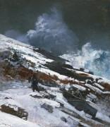 Скалистый берег, зима - Хомер, Уинслоу
